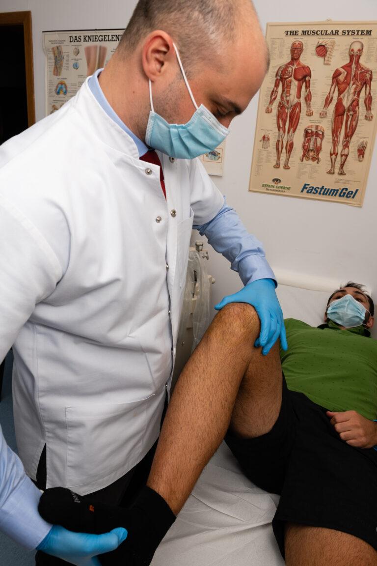 Durere genunchi Operatie menisc si ligament